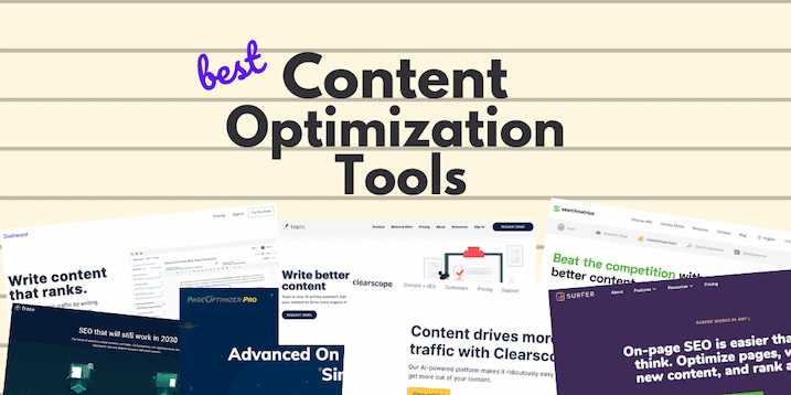 Content Optimization tools to help you to gain authority in 2021